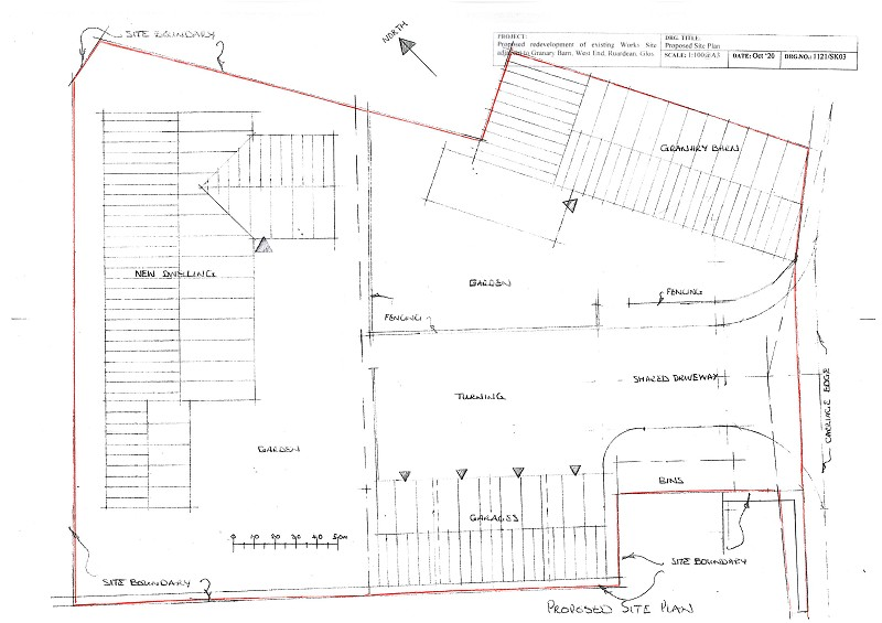 with Planning for a 5 Bed, West End, Ruardean, Gloucestershire. GL17 9TP